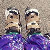 Snow boots #harlem baby
