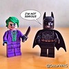#LEGO #Joker #Batman #ImNotSerious #DarkKnight #TheDarkKnight #TDK #76023 #DCcomics #MarvelousDC @dccomics @lego_group @lego