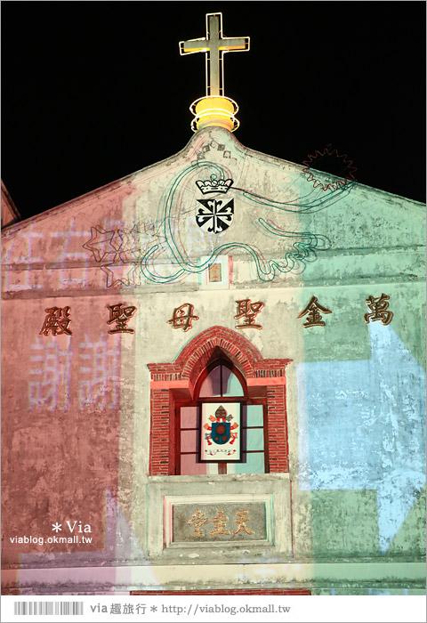 【萬金教堂】屏東萬金教堂聖誕季~3D光雕秀+耶誕地景藝術/全台最濃耶味小鎮!30