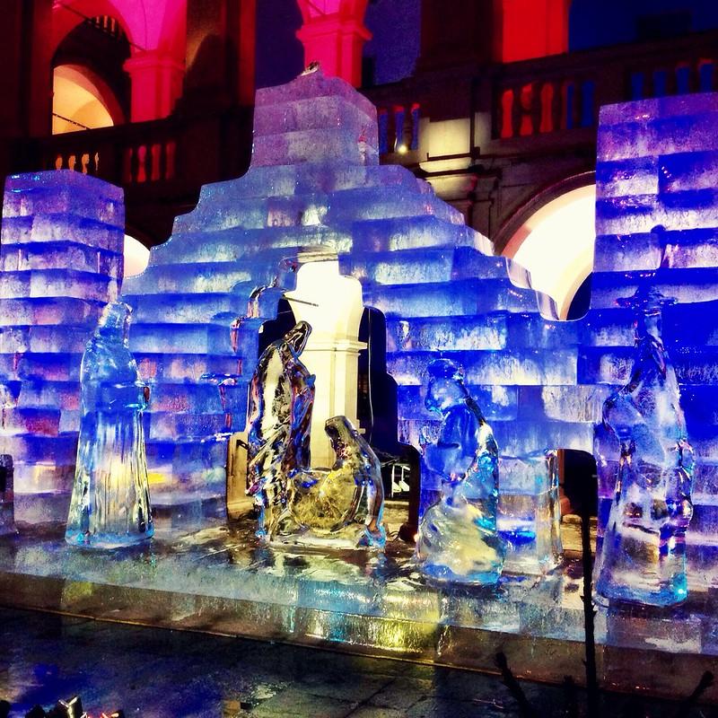 Ice Nativity, Graz 2014
