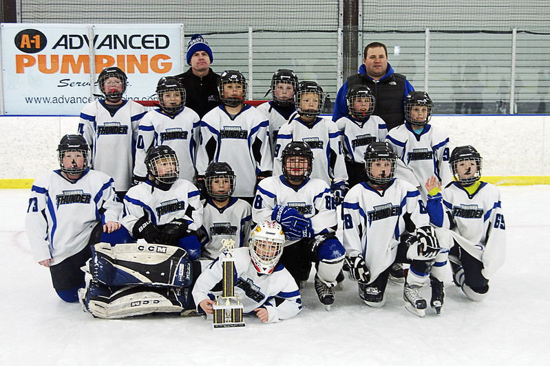 day 3809: the viroqua thunder take first place in the frozen tundra tournament!