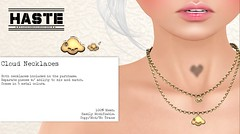 [Haste] Cloud Necklaces @ Geeks N Nerds