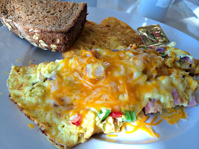 Western Omelette at Market Street Cafe in Celebration, FL