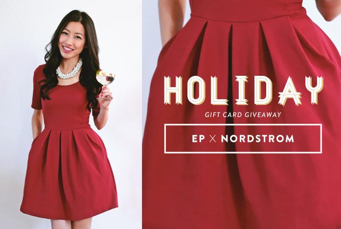 nordstrom holiday giveaway header