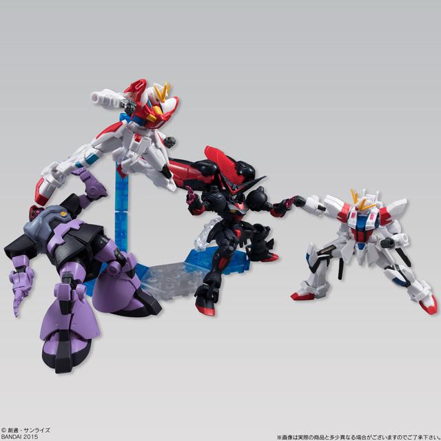 Gundam Assault Kingdom 鋼彈可動盒玩 第八彈