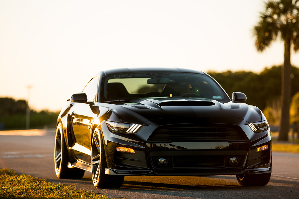 Ford Mustang Roush >> 2015 Ford Mustang GT | Vossen Wheels | Project Black