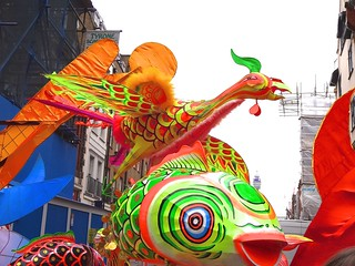 London Chinese New Year, on streets