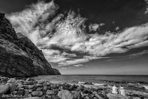 Having a break at Afur Beach - Nikon 1 V1  - Infrared 700nm