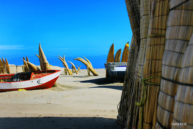 Playa de colores