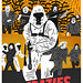 redraw of the crazies movieposter by Thomas Howes