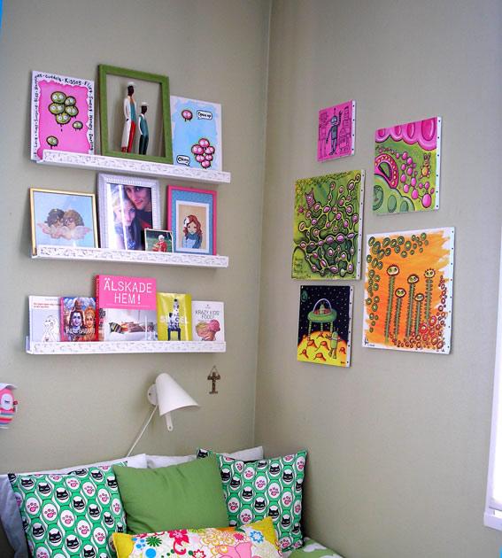 10 ý tưởng lắp đầy không gian trên tường
