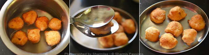 How to make dahi vadai - Step4