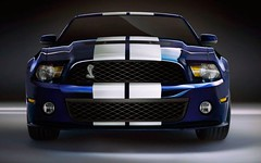 stock car racing(0.0), ford(0.0), automobile(1.0), automotive exterior(1.0), wheel(1.0), vehicle(1.0), automotive design(1.0), shelby mustang(1.0), grille(1.0), bumper(1.0), land vehicle(1.0), luxury vehicle(1.0), muscle car(1.0),