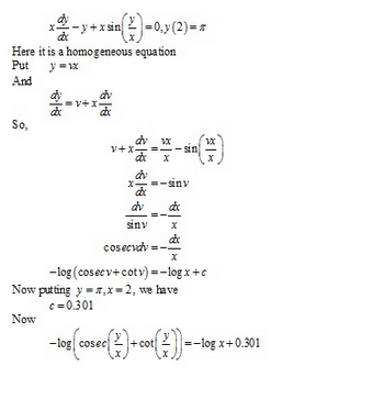 RD Sharma Class 12 Solutions Chapter 22 Differential Equations Ex 22.9 Q36-ix