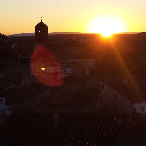 Last days in #Castelnou | #puestadesol, #sunset