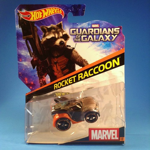 Guardians Hot Wheels Rocket carded