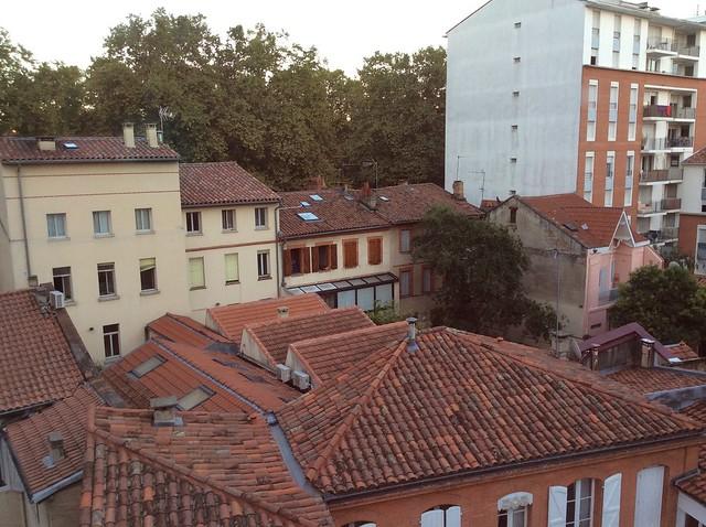 Rooftops from Hotel Riquet