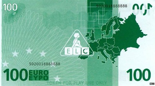 Play 100 euro note