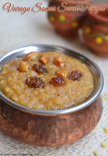 millet Sakkarai Pongal Recipe