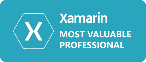 Xamarin MVP Badge2