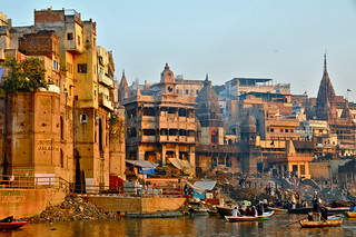 India-Varanasi-Ganges ghats