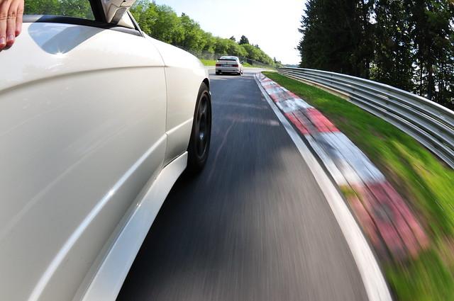BMW M3 parade lap 10