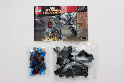 LEGO Marvel Super Heroes Avengers: Age of Ultron - Iron Man vs. Ultron (76029)