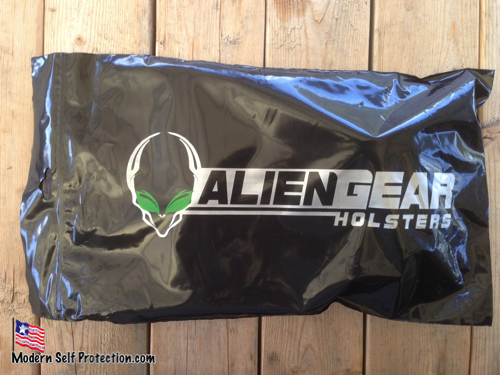 Alien Gear Holster Bag Upon Arrival