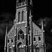 Church at night by Valerie Everett