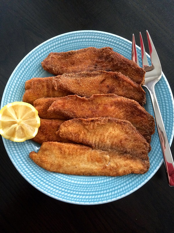 Pan Crusted Tilapia