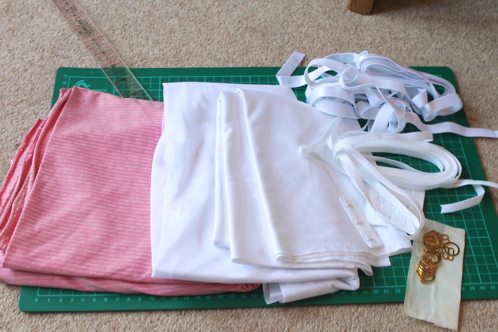 Watson bra fabrics and notions