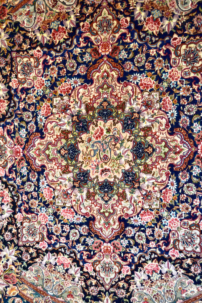 Salari Master Piece 7x7 Persian Area Rug Very detailed Tabriz Rug (2)