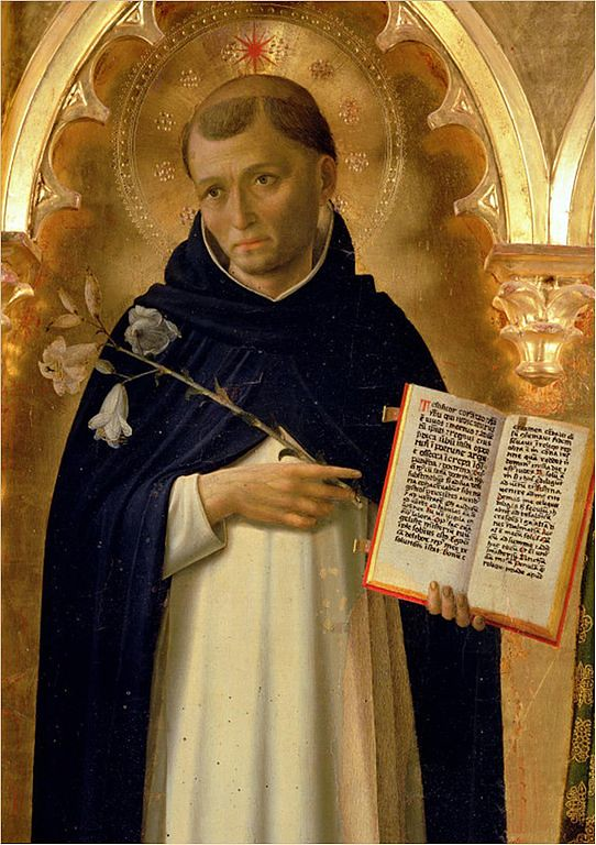 Side Panel of The Perugia Altarpiece depicting St. Dominic by Fra Angelico