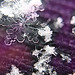 MACRO of snow flake by die Augen