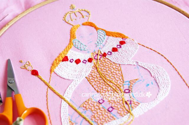 Stitching Elizabeth I