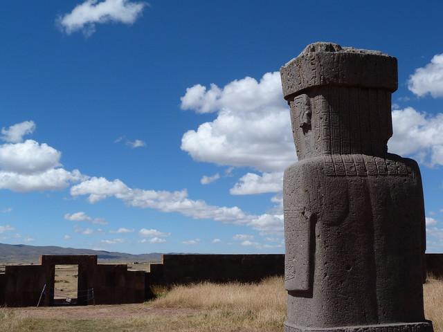 Monolito de Tiahuanaco (Bolivia)