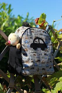 Robin's backpack