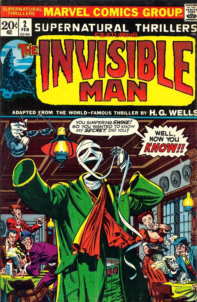 Marvel Supernatural Thrillers 01