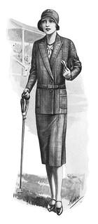 1930 fashion illustration