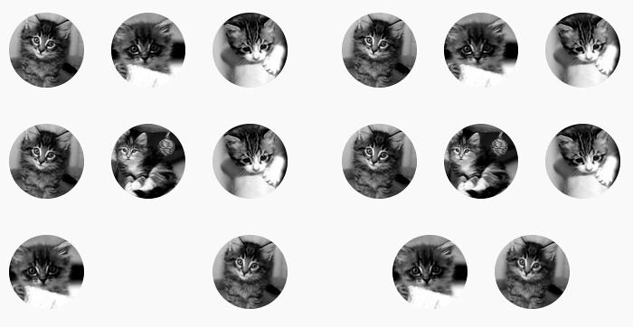 Centrer des éléments impairs avec une grille CSS