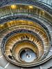 Escalera de los Museos Vaticanos (Roma)