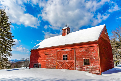 wood winter red cold barn landscape farm connecticut rustic snowstorm newengland ct weathered frigid