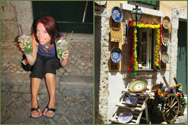 In Lisbon for my birthday in 2010, complete with giant-sized Mojitos