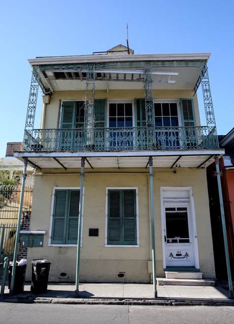 Tennessee Williams' House, New Orleans