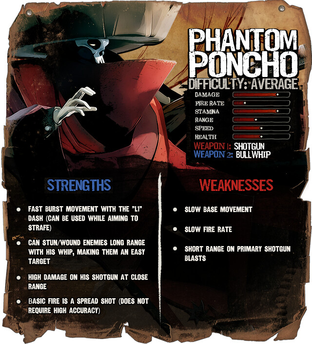Secret Ponchos: Phantom Poncho
