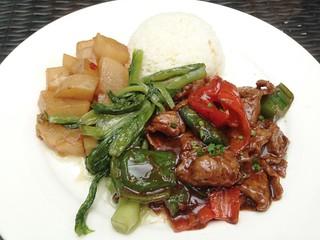 Black Pepper Beef Lunch Set @Limbo, Shanghai
