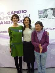 Encuentro con Rosa Martinez y debate mujer y poltica