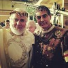 On the set with friends my old cricket mate Clement Von Frankstien and George Clooney #filming #film #movie #set #actors #LosAngeles #California #Rome #RomanEmpire #ceasar #costume