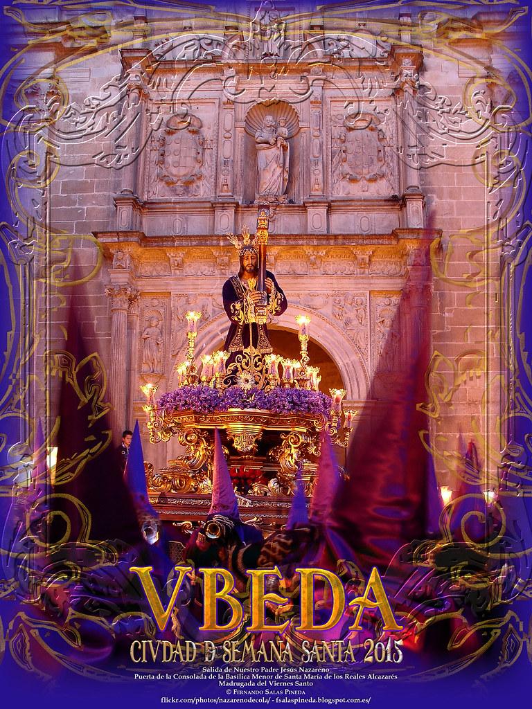 Cartel virtual Semana Santa de Vbeda