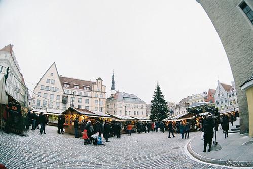Raekoja plats. Tallinn. Estonia